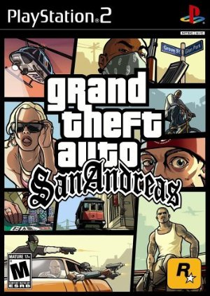 Grand Theft Auto: San Andreas poster